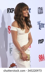 """LOS ANGELES - SEP 6:  Lea Michele at the """"Sons Of Anarchy"""" Premiere Screening at the TCL Chinese Theater on September 6, 2014 in Los Angeles, CA"""