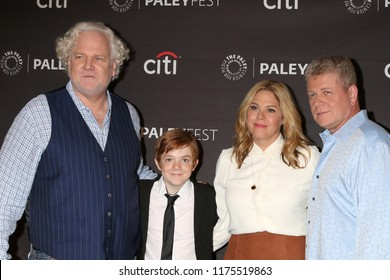 LOS ANGELES - SEP 7:  Tim Doyle, Jack Gore, Mary McCormack, Michael Cudlitz at the 2018 PaleyFest Fall TV Previews - ABC at the Paley Center for Media on September 7, 2018 in Beverly Hills, CA