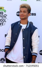 LOS ANGELES - SEP 8:  Jordan Fisher at the EIF Presents: XQ Super School Live at the Barker Hanger on September 8, 2017 in Santa Monica, CA