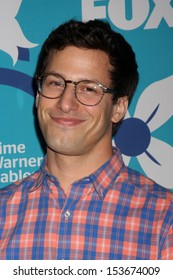 LOS ANGELES - SEP 9:  Andy Samberg at the FOX Fall Eco-Casino Party at The Bungalow on September 9, 2013 in Santa Monica, CA