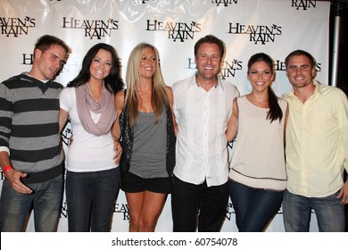 """LOS ANGELES - SEP 9:  Chris Harrison, Bachelor Pad Contestants arrives at the """"Heaven's Rain """" Premiere at ArcLight Cinemas on September 9, 2010 in Los Angeles, CA"""