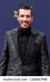 LOS ANGELES - SEP 9:  Drew Scott at the 2018 Creative Arts Emmy Awards - Day 2 - Arrivals at the Microsoft Theater on September 9, 2018 in Los Angeles, CA