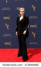 LOS ANGELES - SEP 9:  Jane Lynch at the 2018 Creative Arts Emmy Awards - Day 2 - Arrivals at the Microsoft Theater on September 9, 2018 in Los Angeles, CA