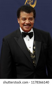 LOS ANGELES - SEP 9:  Neil deGrasse Tyson at the 2018 Creative Arts Emmy Awards - Day 2 - Arrivals at the Microsoft Theater on September 9, 2018 in Los Angeles, CA