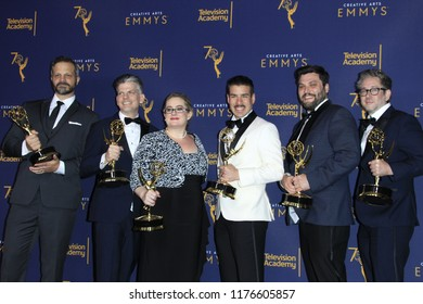 LOS ANGELES - SEP 9:  Queer Eye, Editors at the 2018 Creative Arts Emmy Awards - Day 2 - Press Room at the Microsoft Theater on September 9, 2018 in Los Angeles, CA