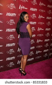 LOS ANGELES - SEPT 23:  Tamela Jones arriving at the Variety's Power of Women Luncheon at Beverly Wilshire Hotel on September 23, 2011 in Beverly Hills, CA