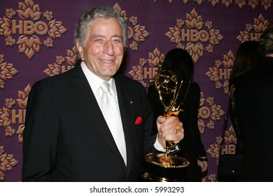 LOS ANGELES - SEPTEMBER 16: Tony Bennett attends the HBO Emmy After Party in Los Angeles on September 16, 2007