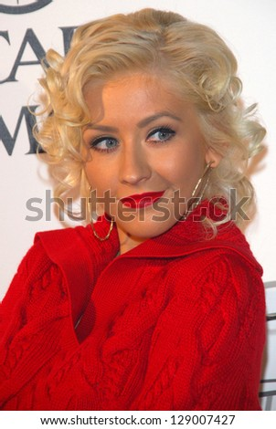 "LOS ANGELES - SEPTEMBER 19: Christina Aguilera at the album release party for Justin Timberlake's new album ""Futuresex/Lovesounds"" at Miauhaus Studios September 19, 2006 in Los Angeles."