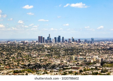 Los Angeles skyline seen from Griffith Observatory