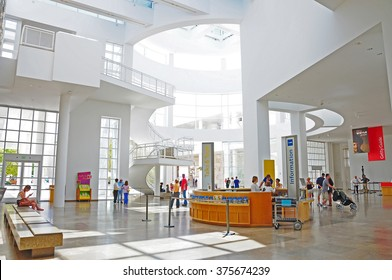 LOS ANGELES, THE UNITED STATES - APRIL 8, 2014 : The Getty Center, in Los Angeles, California, is a campus of the Getty Museum and other programs of the Getty Trust.