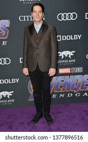 "LOS ANGELES, USA. April 22, 2019: David Dastmalchian at the world premiere of Marvel Studios' ""Avengers: Endgame"".