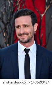 "LOS ANGELES, USA. August 27, 2019: James Ransone at the premiere of ""IT Chapter Two"" at the Regency Village Theatre.