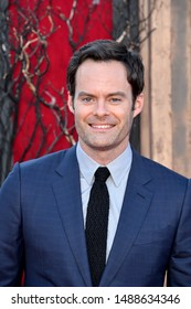 "LOS ANGELES, USA. August 27, 2019: Bill Hader at the premiere of ""IT Chapter Two"" at the Regency Village Theatre.