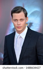"LOS ANGELES, USA. August 27, 2019: Bill Skarsgard at the premiere of ""IT Chapter Two"" at the Regency Village Theatre.