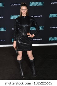 """LOS ANGELES, USA. December 11, 2019: Madeline Zima at the premiere of """"Bombshell"""" at the Regency Village Theatre.Picture: Paul Smith/Featureflash"""