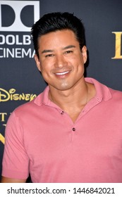 "LOS ANGELES, USA. July 10, 2019: Mario Lopez at the world premiere of Disney's ""The Lion King"" at the Dolby Theatre.