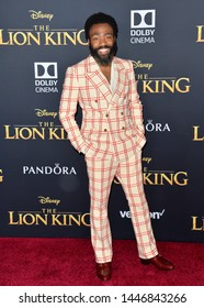 """LOS ANGELES, USA. July 10, 2019: Donald Glover at the world premiere of Disney's """"The Lion King"""" at the Dolby Theatre.Picture: Paul Smith/Featureflash"""