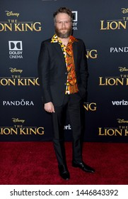 """LOS ANGELES, USA. July 10, 2019: Seth Rogen at the world premiere of Disney's """"The Lion King"""" at the Dolby Theatre.Picture: Paul Smith/Featureflash"""