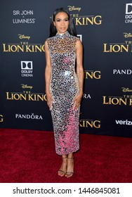 """LOS ANGELES, USA. July 10, 2019: Michelle Williams at the world premiere of Disney's """"The Lion King"""" at the Dolby Theatre.Picture: Paul Smith/Featureflash"""