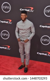 LOS ANGELES, USA. July 10, 2019: Usher at the 2019 ESPY Awards at the Microsoft Theatre LA Live.Picture: Paul Smith/Featureflash