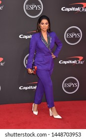 LOS ANGELES, USA. July 10, 2019: Lilly Singh at the 2019 ESPY Awards at the Microsoft Theatre LA Live.