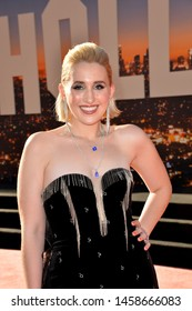 """LOS ANGELES, USA. July 23, 2019: Harley Quinn Smith at the premiere of """"Once Upon A Time In Hollywood"""" at the TCL Chinese Theatre.Picture: Paul Smith/Featureflash"""