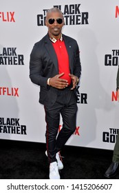 """LOS ANGELES, USA. June 04, 2019: Jamie Foxx at the premiere for """"The Black Godfather"""" at Paramount Theatre.Picture: Paul Smith/Featureflash"""