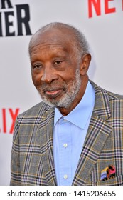 """LOS ANGELES, USA. June 04, 2019: Clarence Avant at the premiere for """"The Black Godfather"""" at Paramount Theatre.Picture: Paul Smith/Featureflash"""