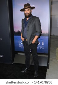 "LOS ANGELES, USA. June 06, 2019: Jonah Johnson at the premiere for ""Ice on Fire"" at the LA County Museum of Art.