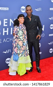 LOS ANGELES, USA. June 07, 2019: Mahershala Ali & Amatus Sami-Karim at the AFI Life Achievement Award Gala.Picture: Paul Smith/Featureflash