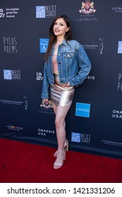 LOS ANGELES, USA - JUNE 09, 2019: Angelina Alexon attends 13th Los Angeles Greek Film Festival 2019 Closing Night on June 09, 2019 in Egyptian Theatre in Los Angeles.