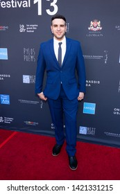 LOS ANGELES, USA - JUNE 09, 2019: Drew McAnany attends 13th Los Angeles Greek Film Festival 2019 Closing Night on June 09, 2019 in Egyptian Theatre in Los Angeles.