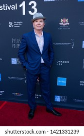 LOS ANGELES, USA - JUNE 09, 2019: Derek Edwards attends 13th Los Angeles Greek Film Festival 2019 Closing Night on June 09, 2019 in Egyptian Theatre in Los Angeles.