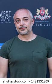 LOS ANGELES, USA - JUNE 09, 2019: Harry Mavromichalis attends 13th Los Angeles Greek Film Festival 2019 Closing Night on June 09, 2019 in Egyptian Theatre in Los Angeles.
