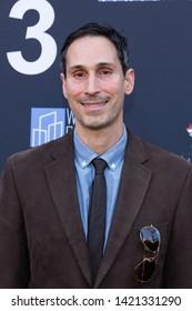 LOS ANGELES, USA - JUNE 09, 2019: Alex Kalognomos attends13th Los Angeles Greek Film Festival 2019 Closing Night on June 09, 2019 in Egyptian Theatre in Los Angeles.