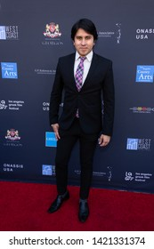 LOS ANGELES, USA - JUNE 09, 2019: Sunil Sadarangani attends 13th Los Angeles Greek Film Festival 2019 Closing Night on June 09, 2019 in Egyptian Theatre in Los Angeles.