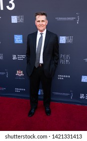 LOS ANGELES, USA - JUNE 09, 2019: James Axiotis attends 13th Los Angeles Greek Film Festival 2019 Closing Night on June 09, 2019 in Egyptian Theatre in Los Angeles.