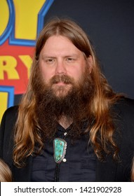 """LOS ANGELES, USA. June 12, 2019: Chris Stapleton at the world premiere of """"Toy Story 4"""" at the El Capitan Theatre.Picture: Paul Smith/Featureflash"""