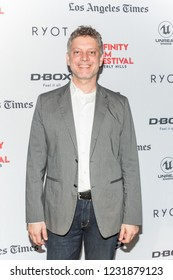 """LOS ANGELES, USA - NOVEMBER 01, 2018: Executive producer Steven Kane attends red carpet and screening of """"The Last Ship"""" movie at Infinity Film Festival in Beverly Hills on November 01, 2018."""