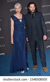 LOS ANGELES, USA. November 03, 2019: Keanu Reeves & Alexandra Grant at the LACMA 2019 Art+Film Gala at the LA County Museum of Art.Picture: Paul Smith/Featureflash