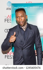 "LOS ANGELES, USA - NOVEMBER 09, 2018:  Mahershala Ali arrives at AFI FEST 2018 presented by Audi - ""Green Book""  Gala Screening on November 9, 2018 at The TCL Chinese Theater in Los Angeles."