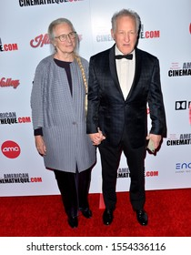 LOS ANGELES, USA. November 09, 2019: Summer Mann & Michael Mann at the American Cinematheque Award Gala honoring Charlize Theron at the Beverly Hilton.Picture: Paul Smith/Featureflash