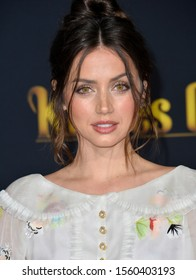 """LOS ANGELES, USA. November 15, 2019: Ana de Armas at the premiere of """"Knives Out"""" at the Regency Village Theatre.Picture: Paul Smith/Featureflash"""