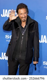 """LOS ANGELES, USA - NOVEMBER 6: Al Pacino at the World Premiere Of """"Jack and Jill"""" held at Regency Village Theater in Westwood, USA on November 6, 2011."""