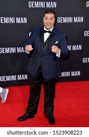 "LOS ANGELES, USA. October 07, 2019: Ethan Levy at the premiere of ""Gemini Man"" at the TCL Chinese Theatre, Hollywood.