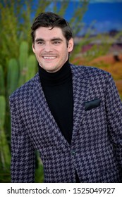 "LOS ANGELES, USA. October 08, 2019: RJ Mitte at the premiere of ""El Camino: A Breaking Bad Movie"" at the Regency Village Theatre.