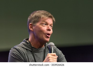 Los Angeles - USA - October 31, 2015: Rob Liefeld American comic book creator during Comikaze Expo at the Los Angeles Convention Center.
