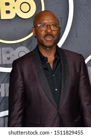 LOS ANGELES, USA. September 23, 2019: Courtney B. Vance at the HBO post-Emmy Party at the Pacific Design Centre.