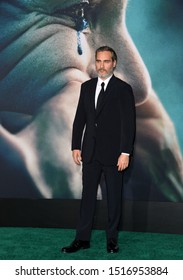 """LOS ANGELES, USA. September 29, 2019: Joaquin Phoenix at the premiere of """"Joker"""" at the TCL Chinese Theatre, Hollywood.Picture: Paul Smith/Featureflash"""