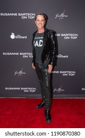 "LOS ANGELES, USA - SEPTEMBER 4, 2018: Bryan Rabin poses on red carpet at Los Angeles premiere of ""Susanne Bartsch: On Top""."